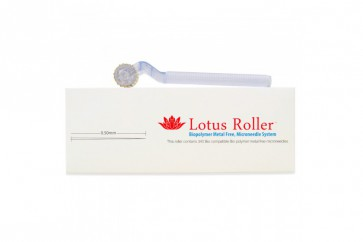 White Lotus Allergivennlig Dermaroller 0.5 mm