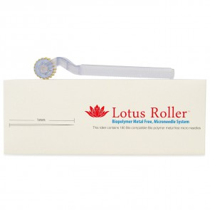 White Lotus Allergivennlig Dermaroller 1 mm